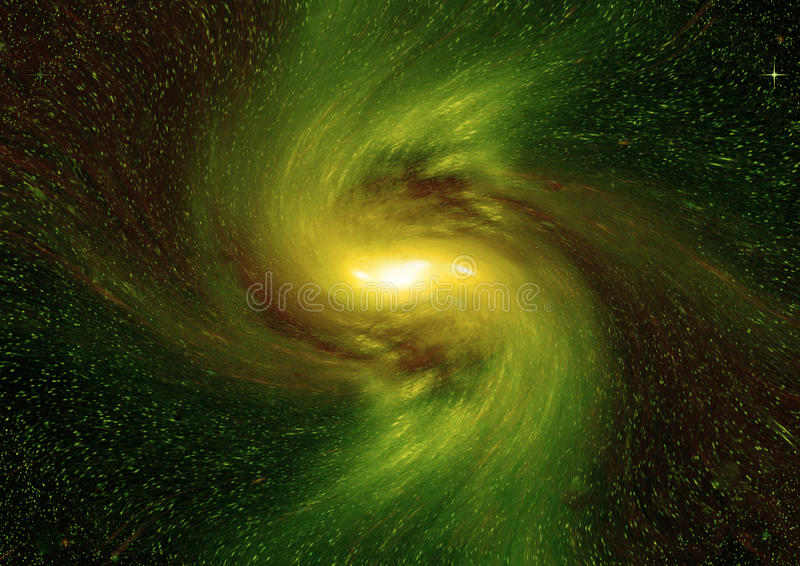 Stars, dust and gas nebula in a far galaxy. `Elements of this image furnished by NASA royalty free illustration