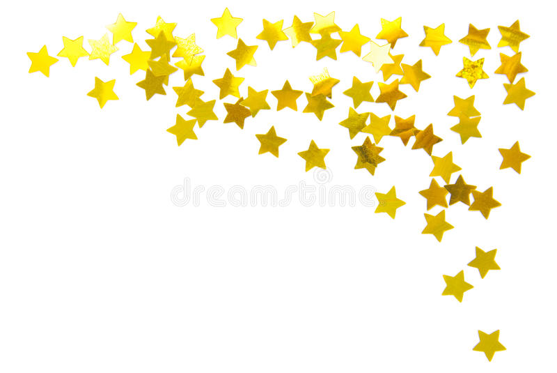 Stars frame royalty free stock photos