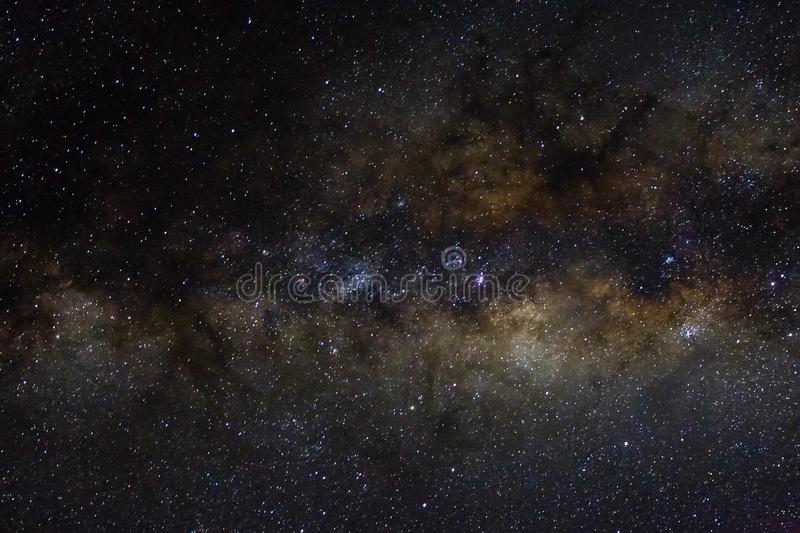 Stars and galaxy outer space sky night universe black starry background of shiny starfield stock photography