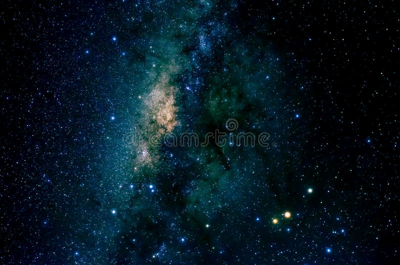 Stars and galaxy space sky night background royalty free stock image