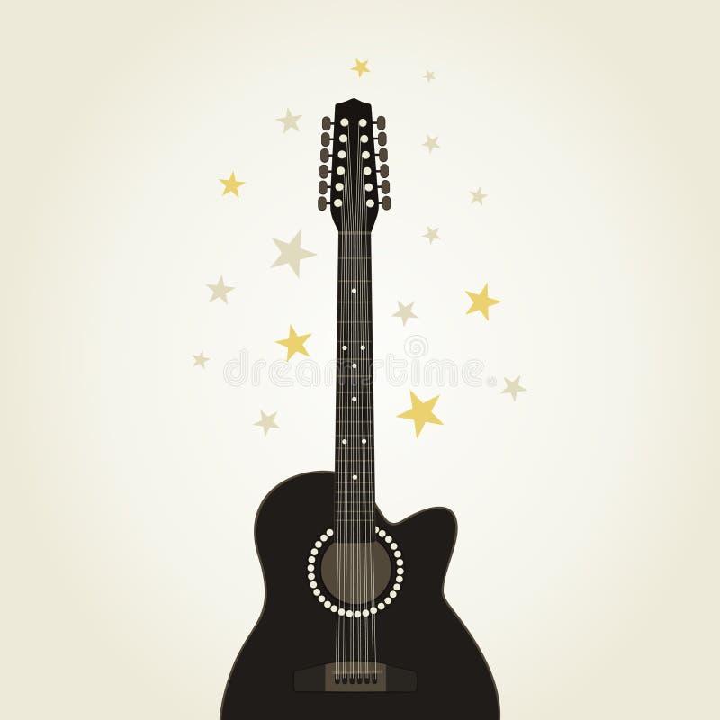Guitar9 royalty illustrazione gratis