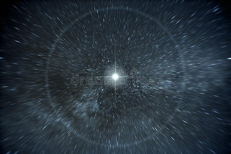 Stars la chaîne de temps photo libre de droits