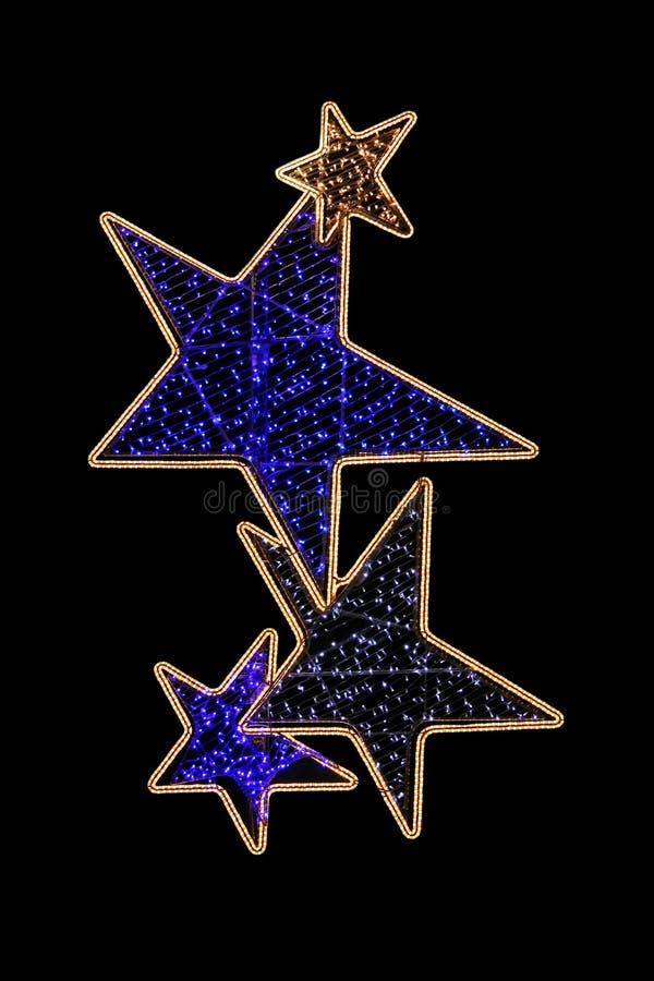 Stars light royalty free stock photo