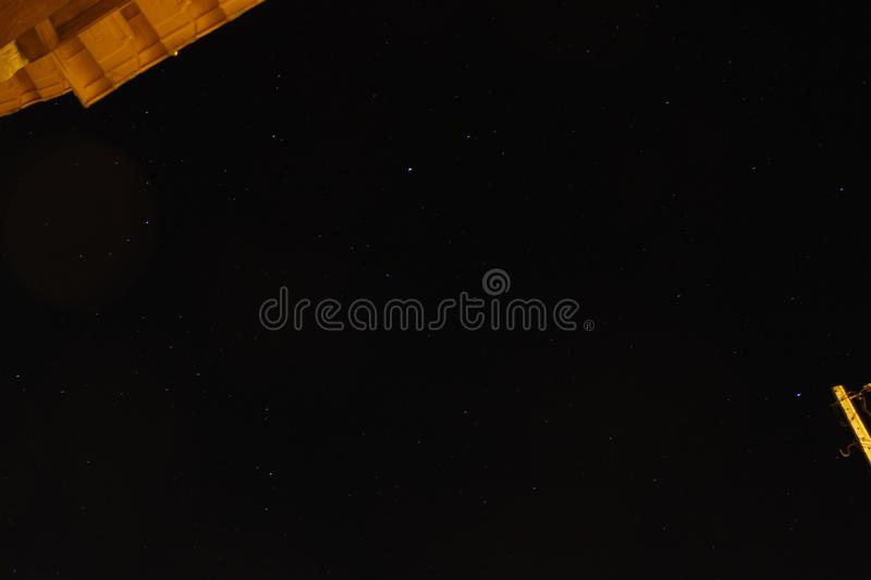 Stars. LongExposure of the sky in Alcaria, Portugal stock images