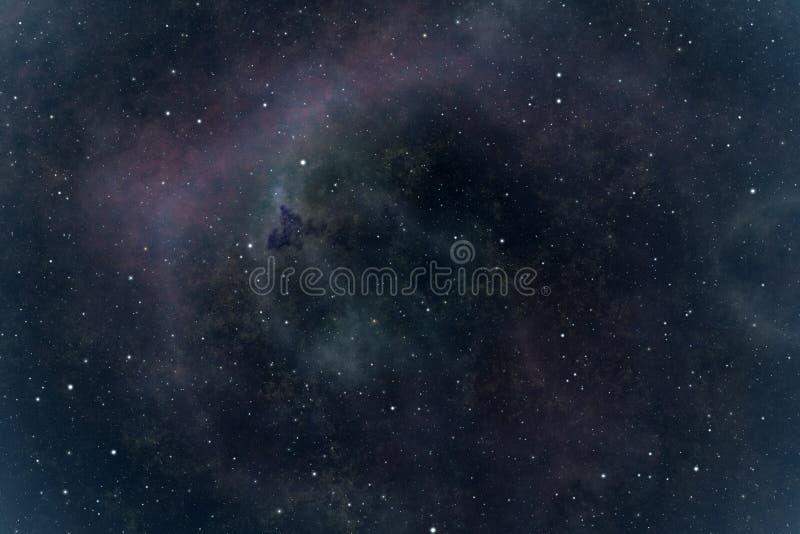 Stars nebula royalty free illustration