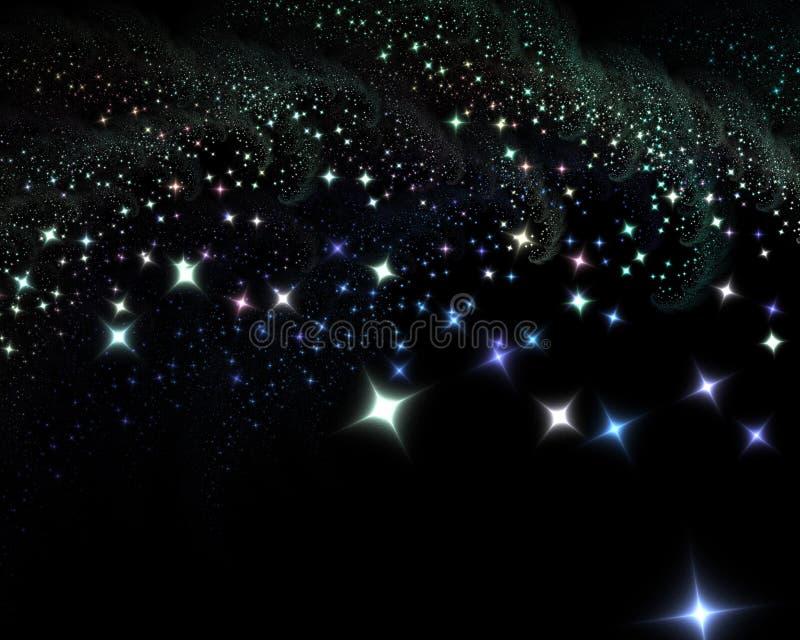 Download Stars at night stock illustration. Image of goodnight - 16722424