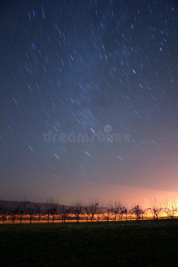 Stars at night royalty free stock photography