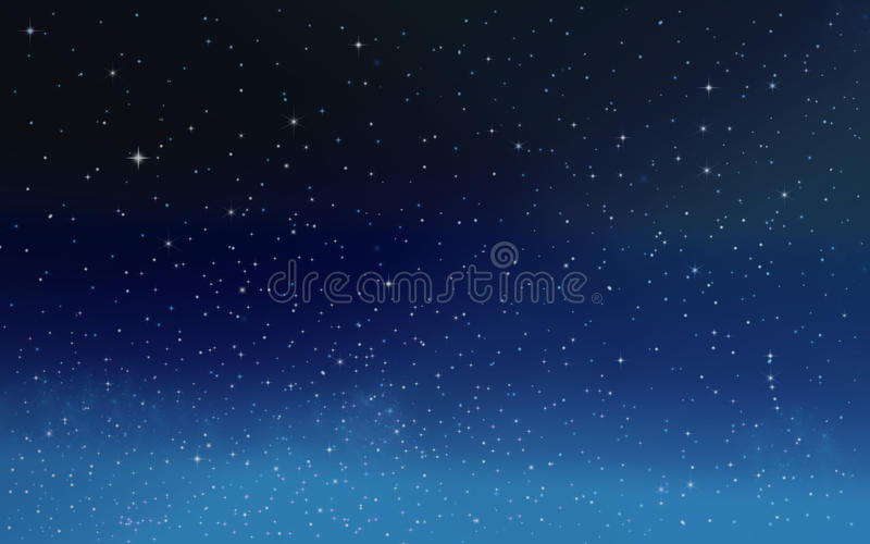 Stars in the night sky. Background