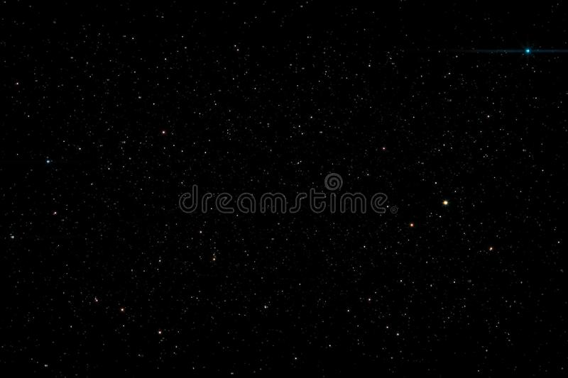 Stars in the night sky background texture milky way glow of stars. The sky is in the stars stock illustration