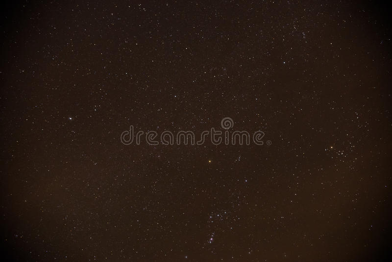 Stars on night sky royalty free stock photography
