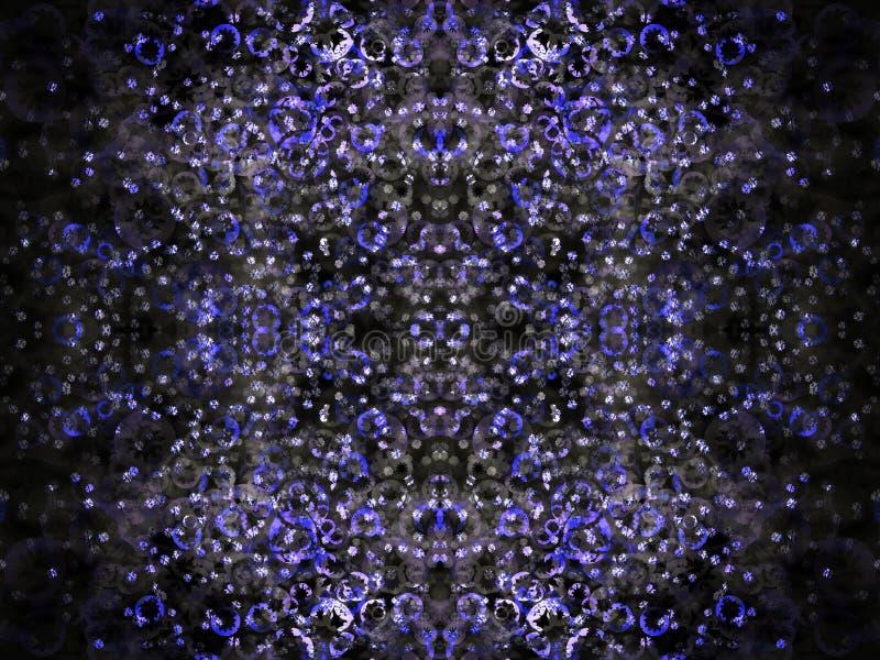 Stars noche ilustración del vector