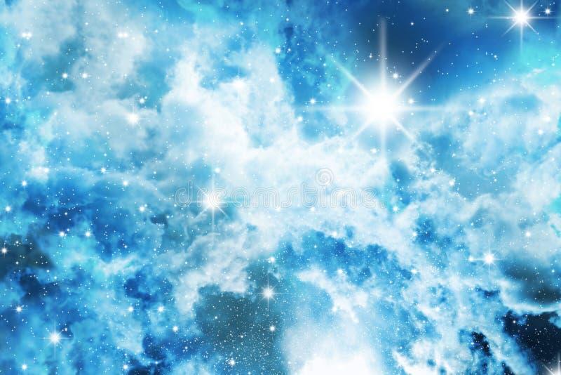 Stars o céu ilustração stock