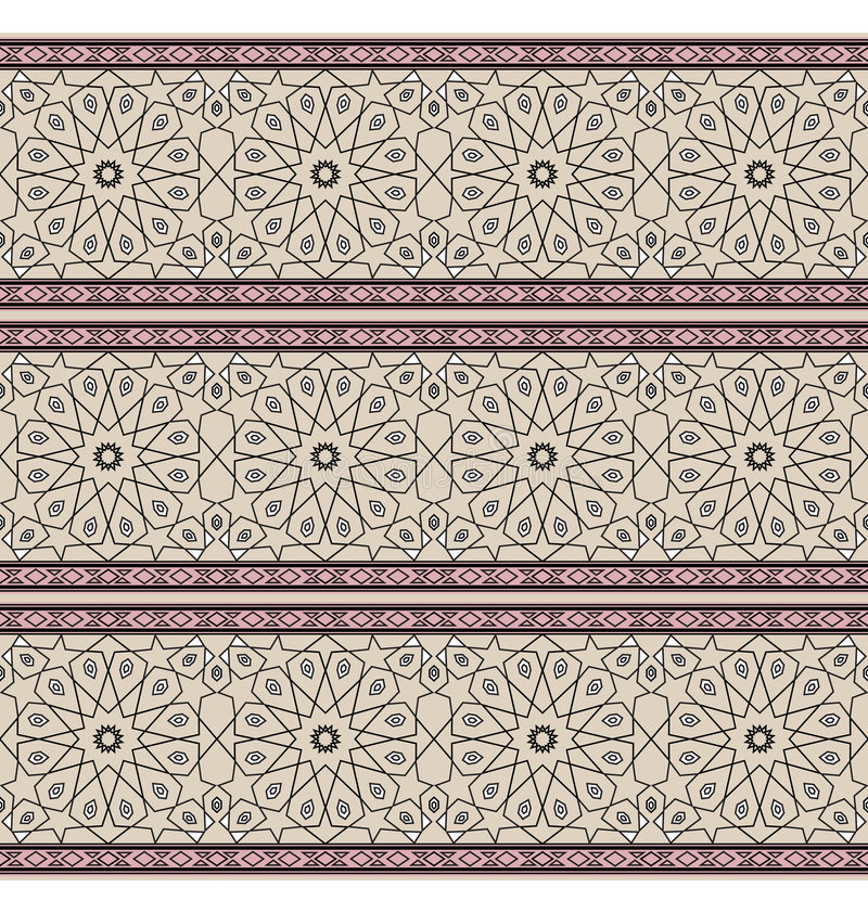 Download Stars Pattern stock vector. Image of style, iran, design - 7259854