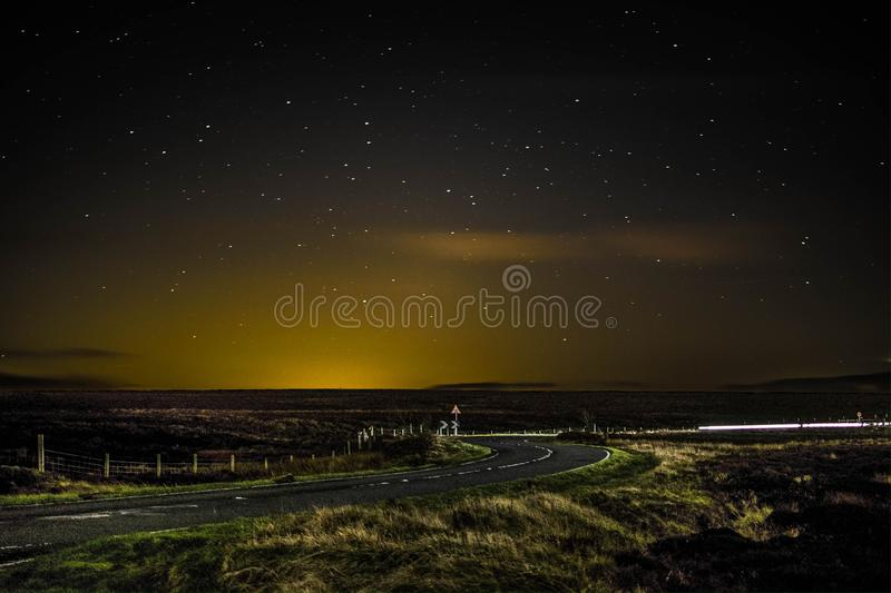 Stars in the Peak District royalty free stock photos