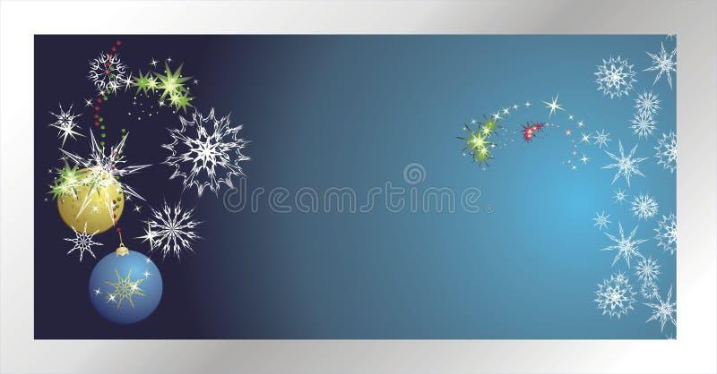 Download Stars, Snowflakes And Balls. Christmas Banner Stock Vector - Image: 7095041