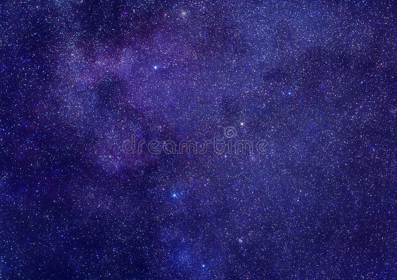 Stars space background royalty free stock photography