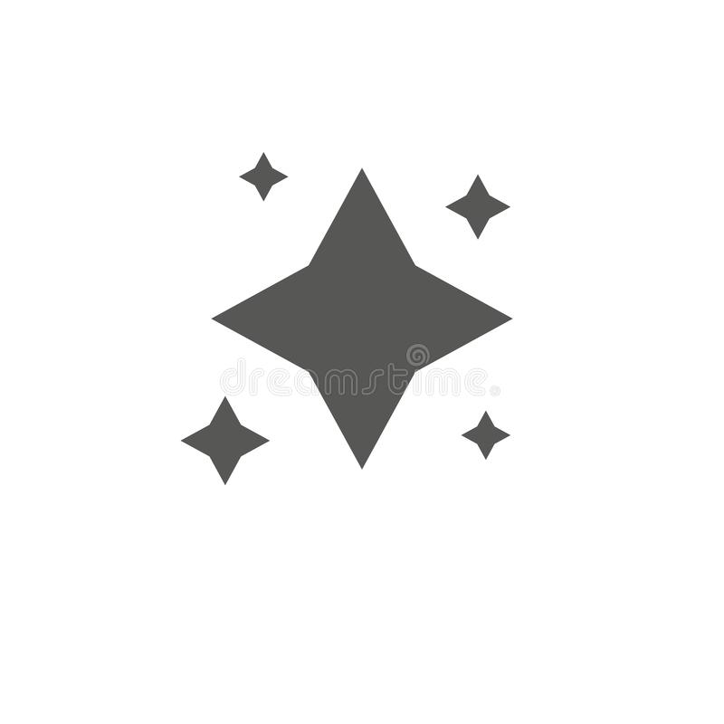 Stars. Star design tattoos. Logo vector , grey favorite web symbol. Icon vector . Simple flat symbol . Perfect pictogram vector illustration