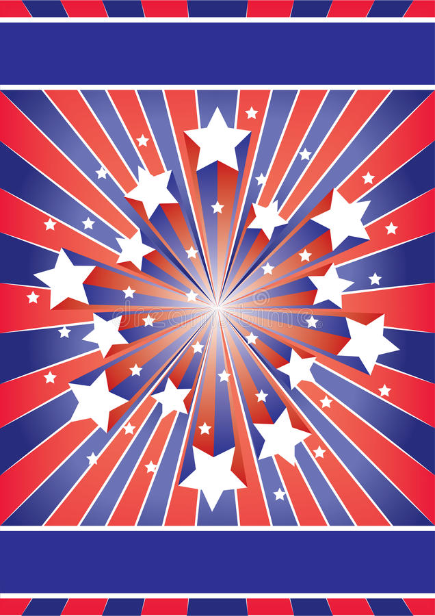 Download Stars and stripes stock vector. Illustration of poster - 24803768
