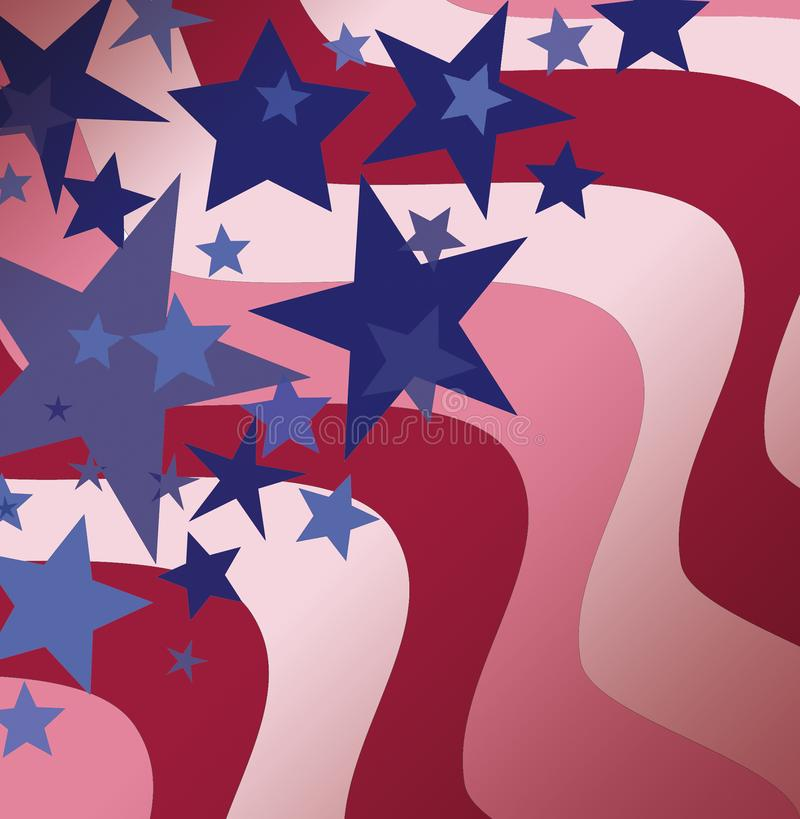 Download Stars and stripes stock illustration. Image of patriotic - 4032459