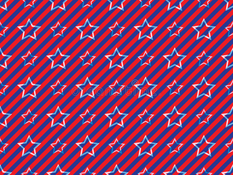 Download Stars and stripes pattern stock vector. Image of pattern - 29376614
