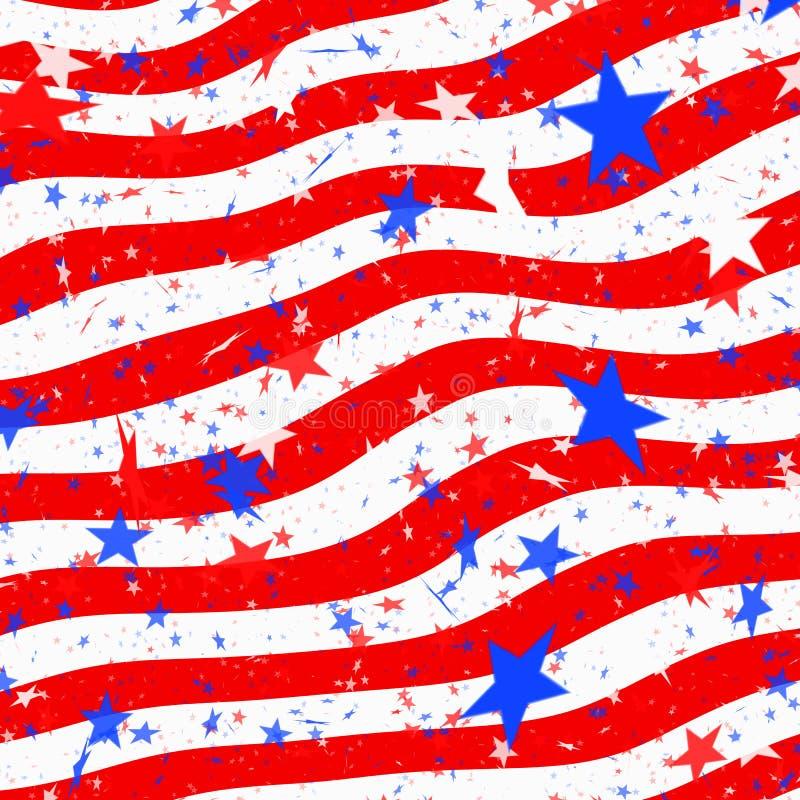 Download Stars and stripes us flag stock illustration. Image of stripes - 15027202