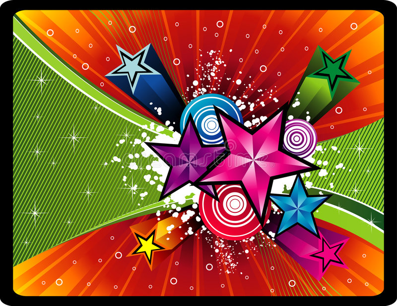 Download Stars vector illustration stock vector. Image of style - 7413887