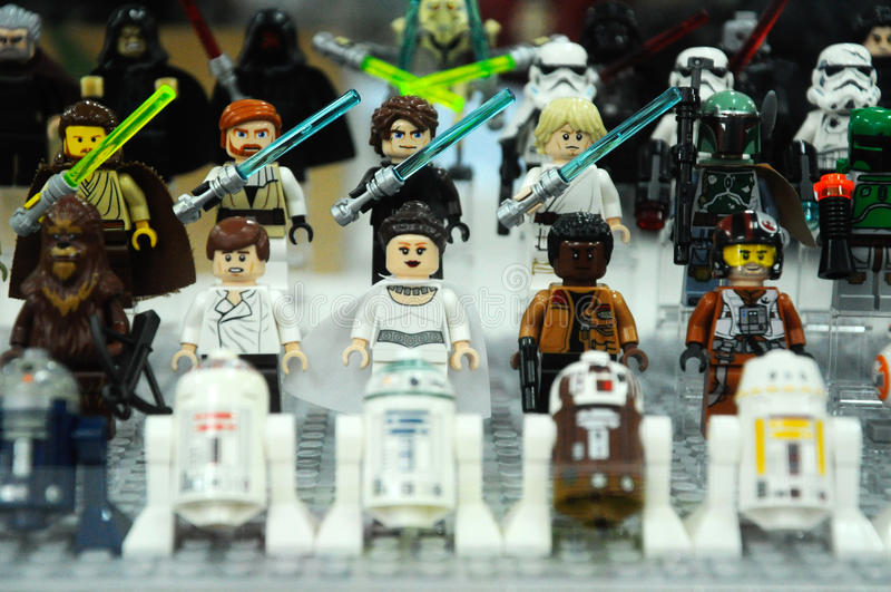 Stars Wars Jedi Characters From Star Wars Franchise Movies Editorial ...