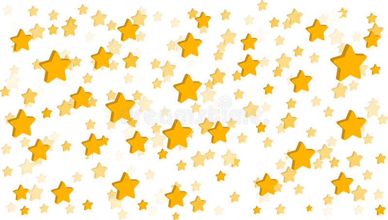 Download Stars White Background stock vector. Illustration of yellow - 95254930