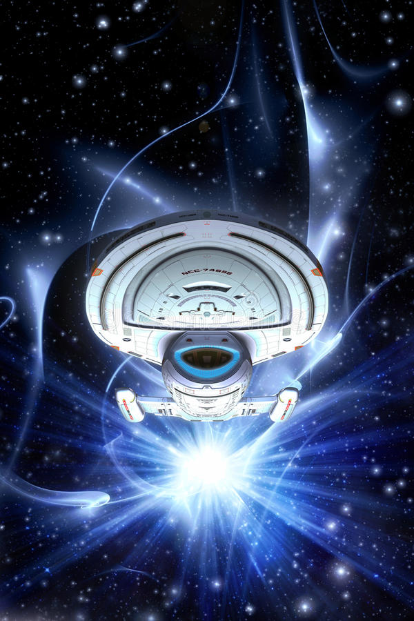 Starship航海者强悍类 皇族释放例证