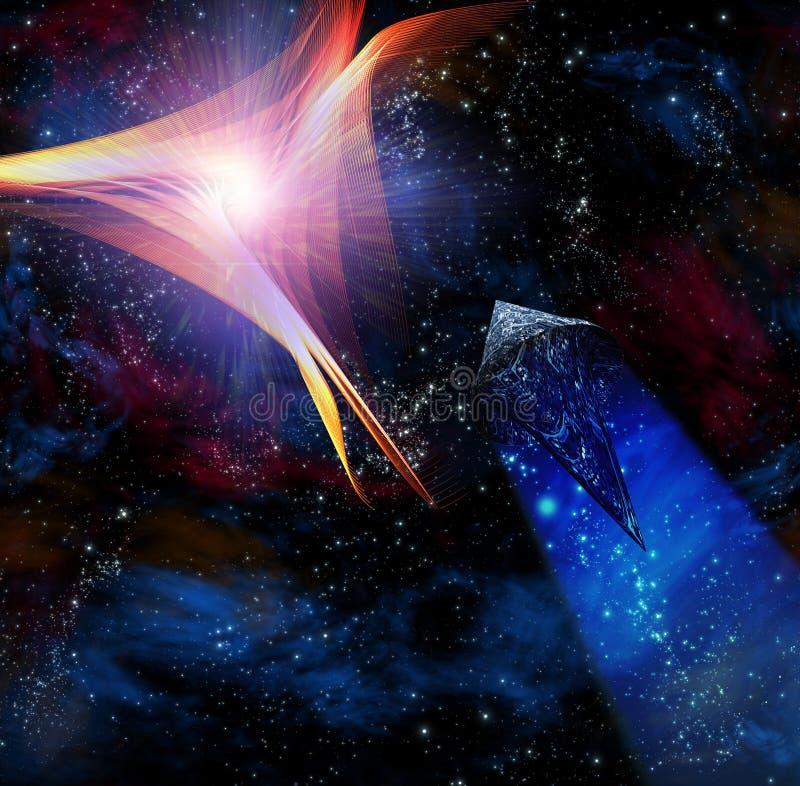 starships vektor illustrationer