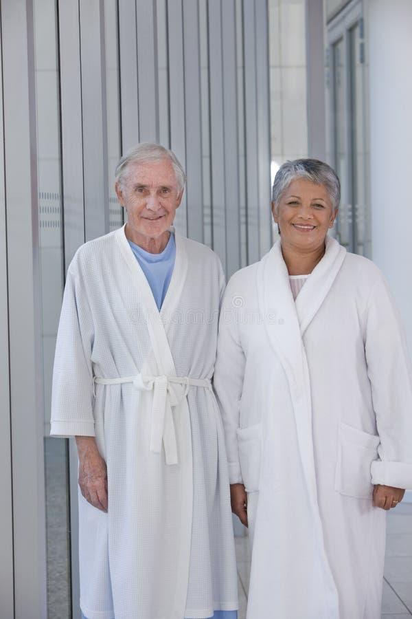 starsi pacjenci fotografia stock