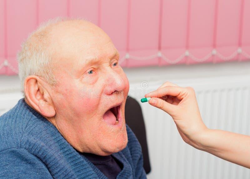 Starsza demencja zdjęcie royalty free
