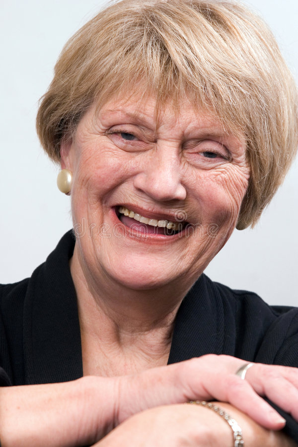 starsza kobieta jednostek gospodarczych obraz royalty free