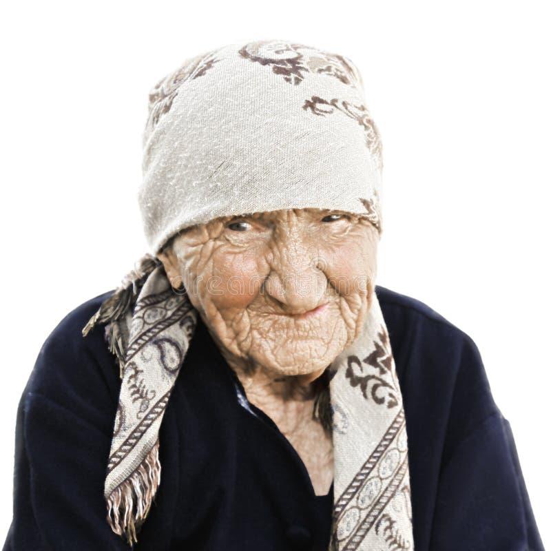 starsza kobieta portret zdjęcia royalty free