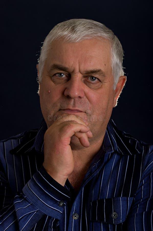 starsza osoba mężczyzna zdjęcia stock