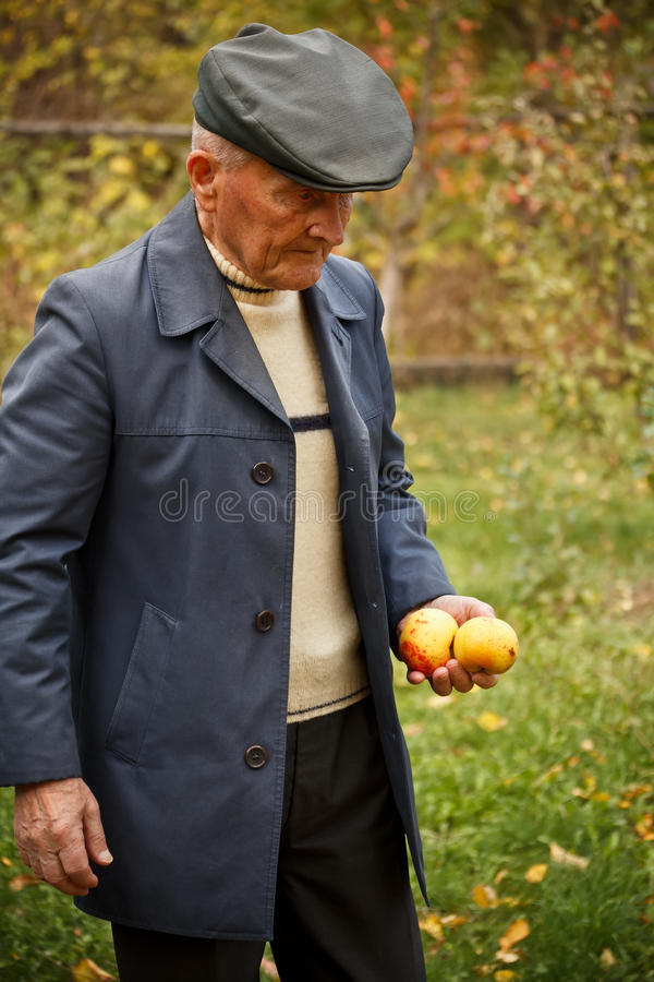Starsza osoba mężczyzna zdjęcie stock