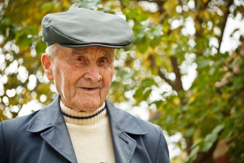 Starsza osoba mężczyzna fotografia royalty free