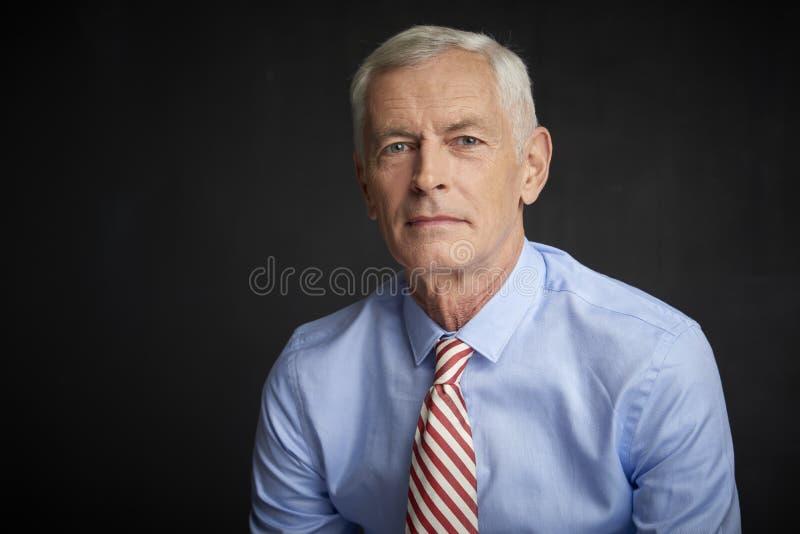 Starsza osoba mężczyzna portriat zdjęcie stock