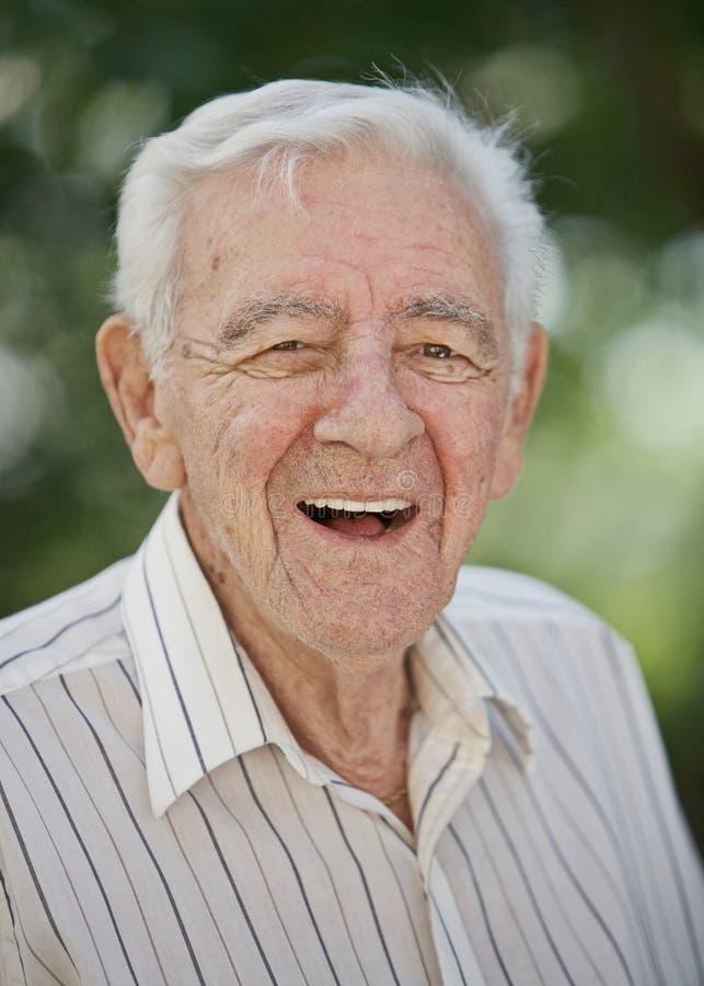 Starsza osoba stary mężczyzna fotografia stock