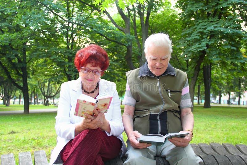 Starsza para małżeńska zdjęcia royalty free