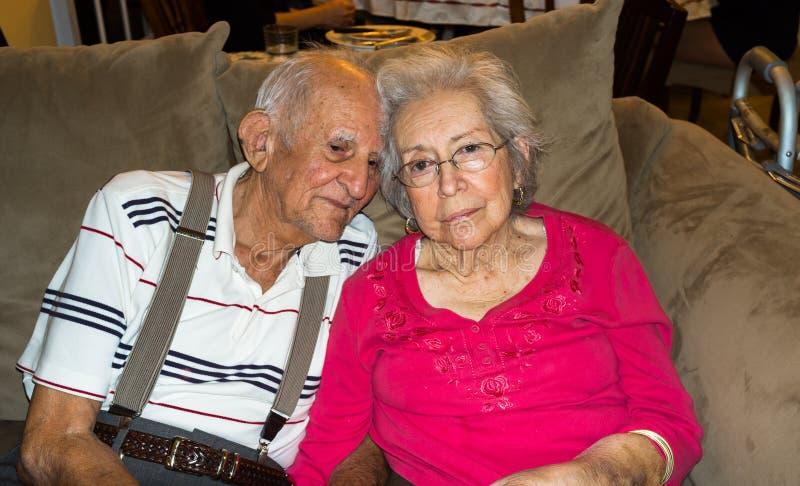 Starszej osoby miłość zdjęcia stock