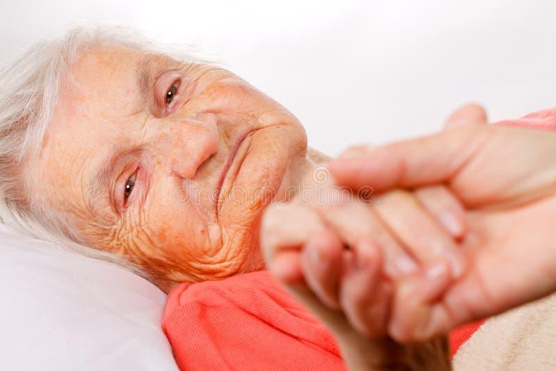 Starszej osoby opieka obrazy stock