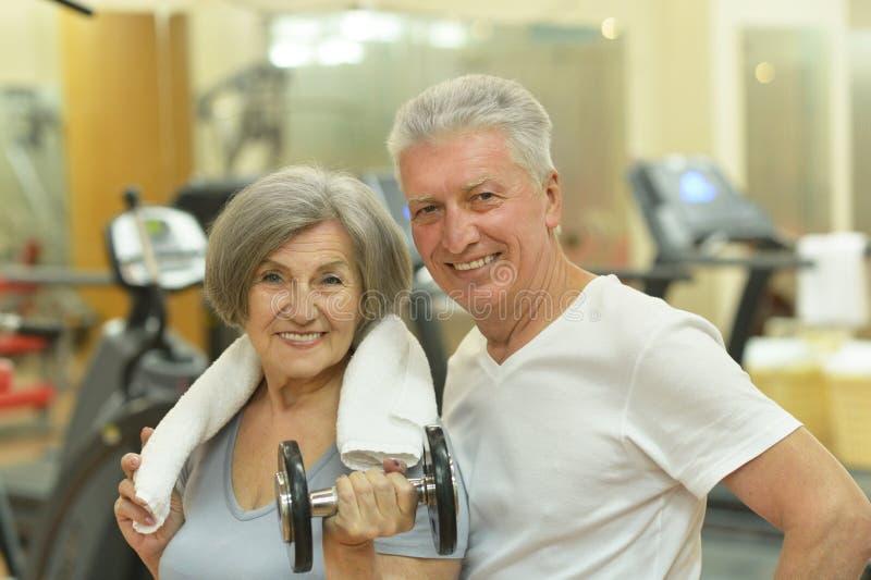 Starszej osoby piękna para fotografia stock