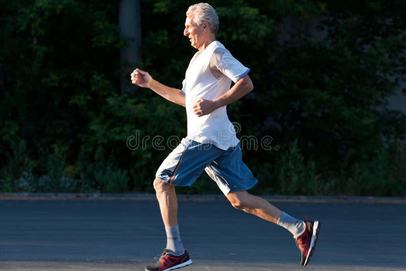 Starszy biegacz zdjęcia stock
