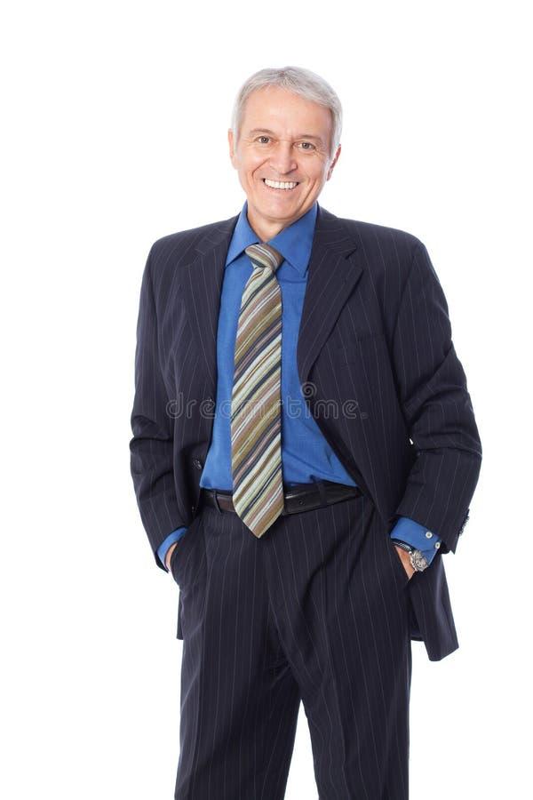 Starszy biznesmen obraz stock