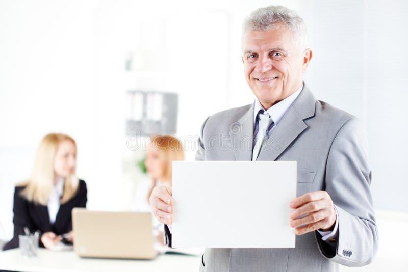 Starszy biznesmen obrazy stock