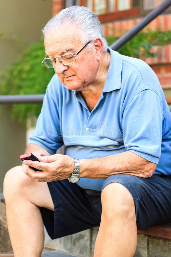 starszy człowiek obraz royalty free