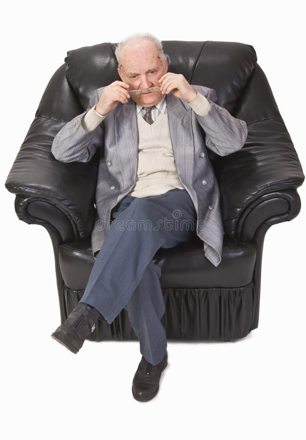 starszy człowiek obraz stock