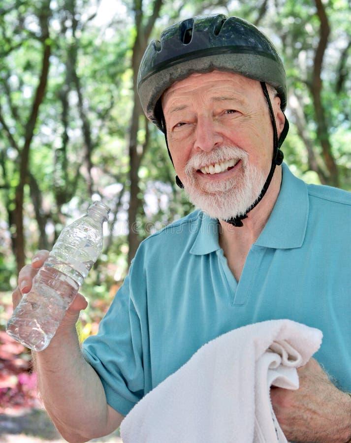 starszy człowiek fitness fotografia royalty free