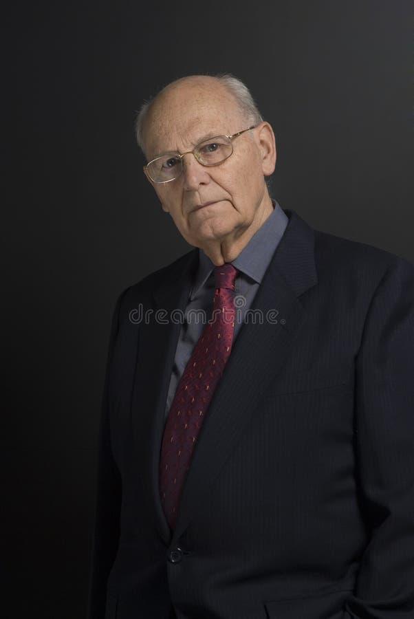 starszy człowiek interesu zdjęcie royalty free
